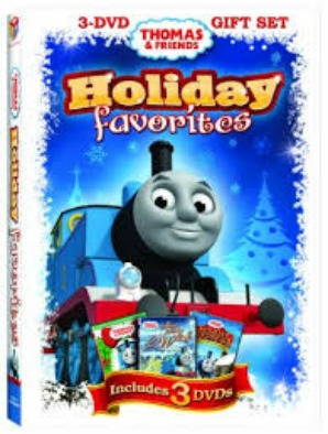 Thomas and Friends Holiday Favorites DVD