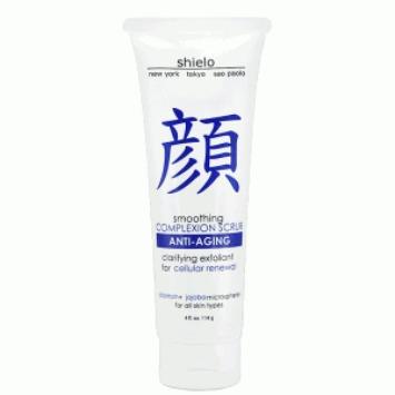 shielo anti-aging face scrub