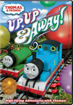 thomas and friends up up and away dvd
