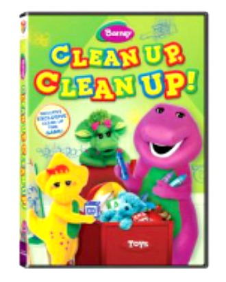 Barney - Clean Up, Clean Up! DVD