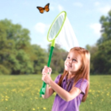 Butterfly Net and Tent by Learning Resources