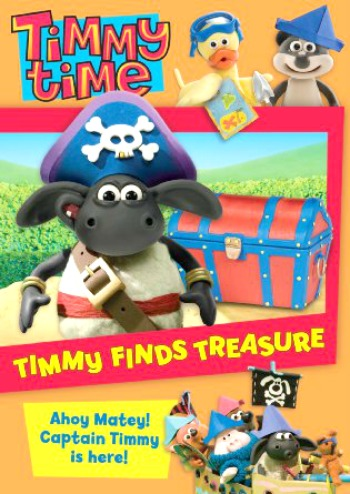 Timmy Time - Timmy Finds Treasure DVD