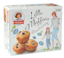 Little Debbie Blueberry and Chocolate Chip Little Muffins