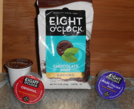 Eight O' Clock Coffee New Limited Edition Chocolate Mint Coffee