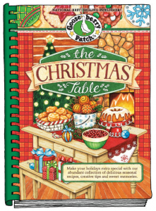 Gooseberry Patch: The Christmas Table Cookbook http://twoclassychics.com