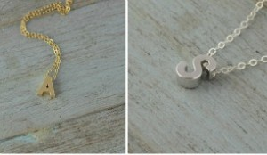 Something About Silver initial neckalace http://somethingaboutsilver.com