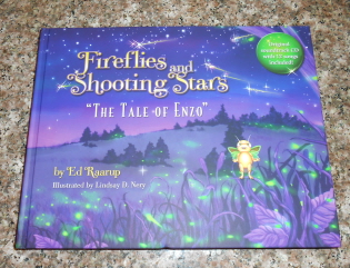 "Fireflies and Shooting Stars ""The Tale of Enzo"" Book"
