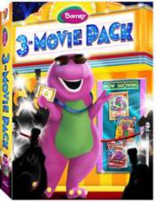 Barney movie 3 pack