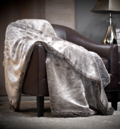 Luxurious Faux Fur Throw Blankets