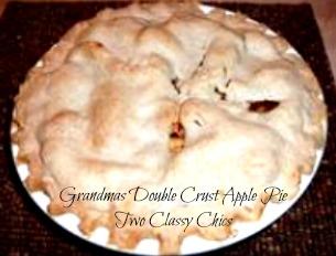 Grandma's Double Crust Apple Pie Recipe