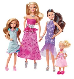 Barbie and Her Sisters in A Pony Tale Doll Set
