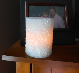 flameless holiday candle 1