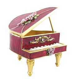 grand piano jewelry box