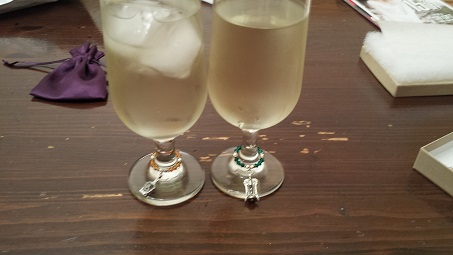 Wine Glass Charms from Wine Glass Gems
