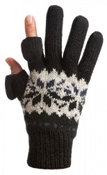 freehands snowflake gloves