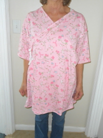 Pink Mammography Top
