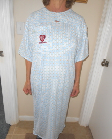 IV Hospital Gown