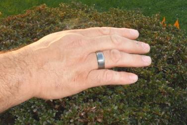 modern design mens ring