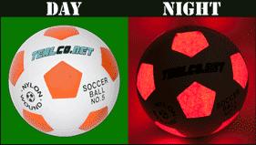 LED Light Up Soccer Ball