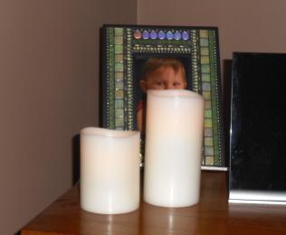 vanilla flameless candles