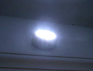 Wireless Light in Closet