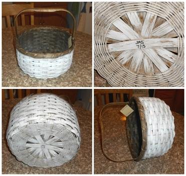 beautiful handmade basket