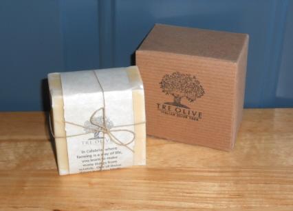 tre olive oil soap