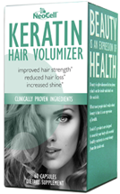 NeoCell Keratin Hair Volumizer http://twoclassychics.com/2014/02/neocell-keratin-hair-volumizer/