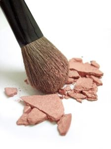 Broken blush and makeup brush http://www.sxc.hu/photo/909989