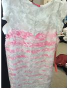 ELLE Keyhole Front Flutter Sleeved Top $36