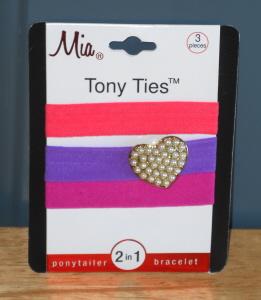 Tony Ties with Charms from Mia Beauty