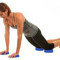 DOD pushup and knee donuts http://twoclassychics.com/2014/05/dod-fitness-tools-workout-in-comfort/