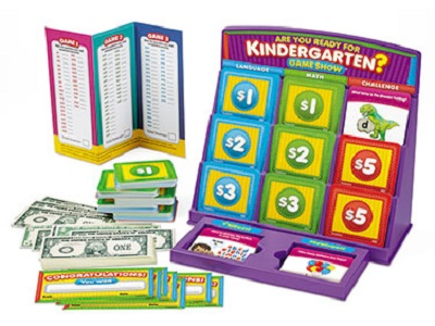 are you ready for kindergarten game