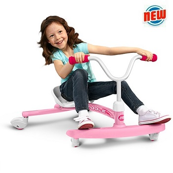 the pink ziggle from radio flyer