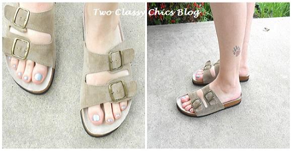 White mountain sandles. Shoes