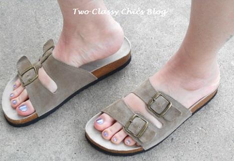 white mountain summer sandals