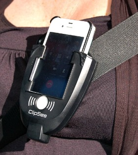 clipsee hands free speaker phone http://twoclassychics.com/2014/06/clipsee-hands-free-speakerphone/