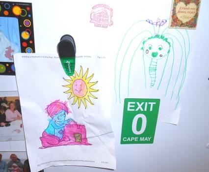 Gianna's Refrigerator Art