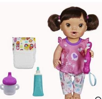 baby alive brushy doll