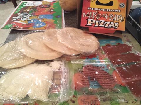 make n bake pizza kit