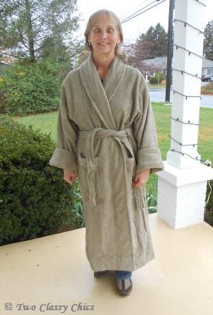 J Brulee Home robe