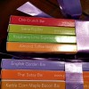 Paris Truffles Chocolate Bars stacked
