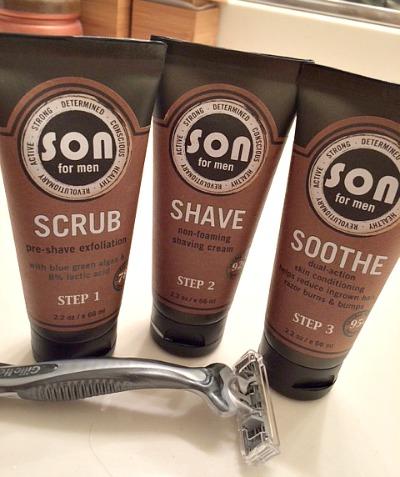 SON Mens Trip Shave Gift Set
