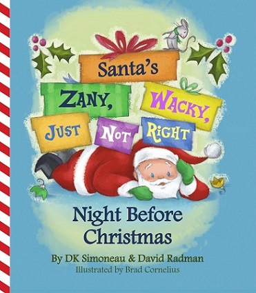 Santa Night Before Christmas book