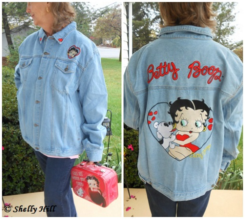 betty boop denim jacket