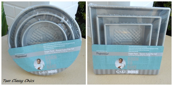 commerical style cake pans