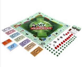 hasbro my monopoly game