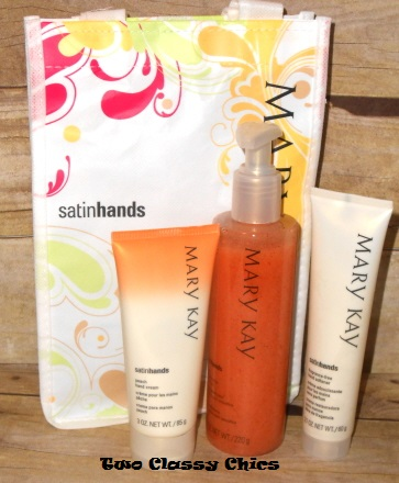 mary kay peach satin hands