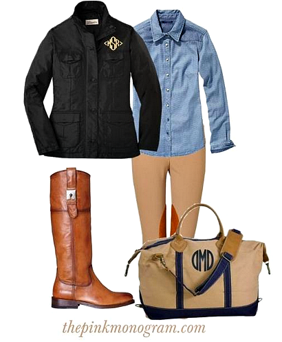 barn jacket collection outfit of the day by thepinkmonogram.com