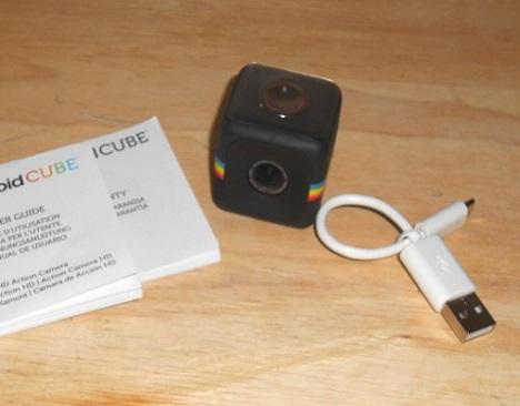 polaroid camera cube